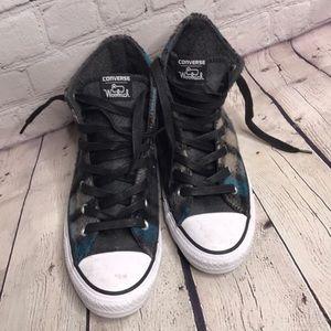 Converse Woolrich plaid hi top sneakers